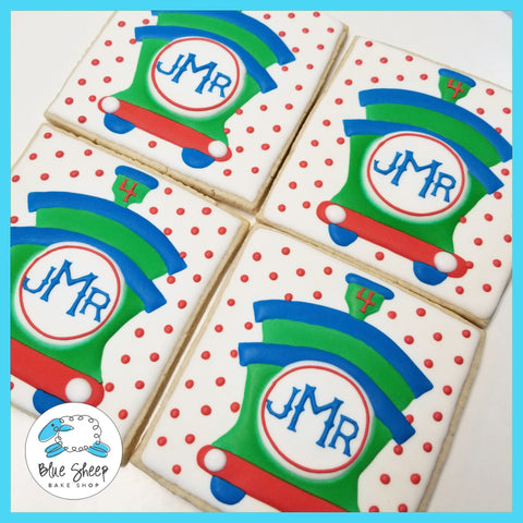 jacks monogram custom decorated cookies nj