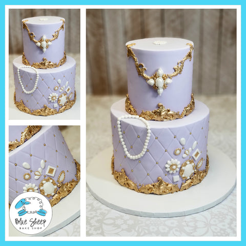 Jewelry Inspired Birthday Cake NJ