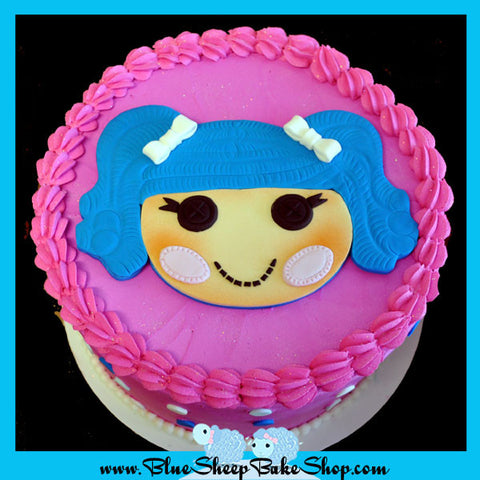 lala loopsy birthday cake