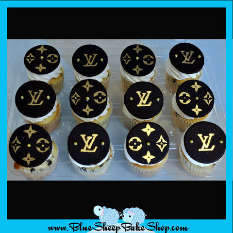 louis vuitton custom cupcakes nj
