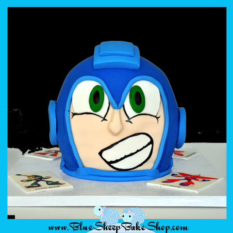 Mega Man Birthday Cake