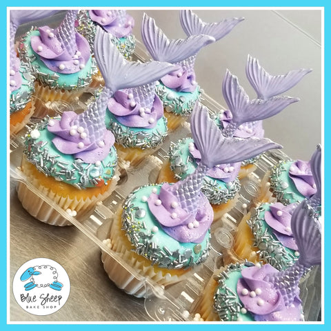 Mermaid Birthday Cupcakes NJ