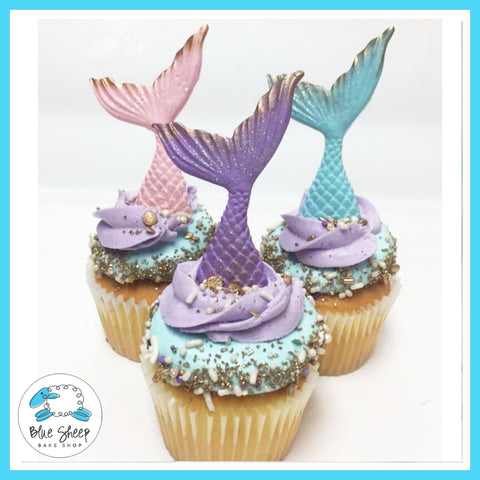 mermaid tail cupcakes nj custom cupcakes