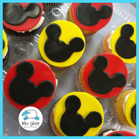 mickey mouse cupcakes nj