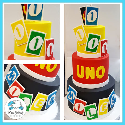 miles' uno first birthday cake nj