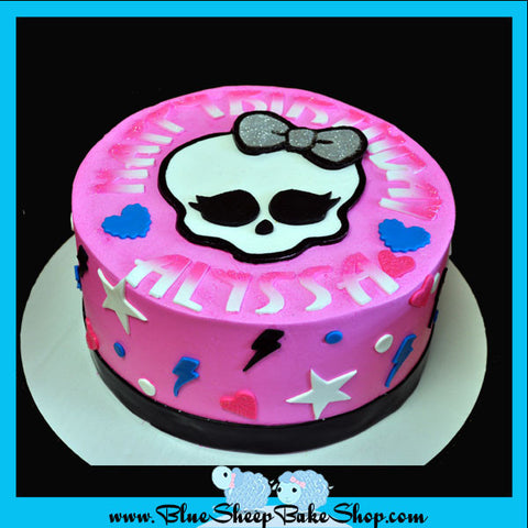 monster high custom cakes nj