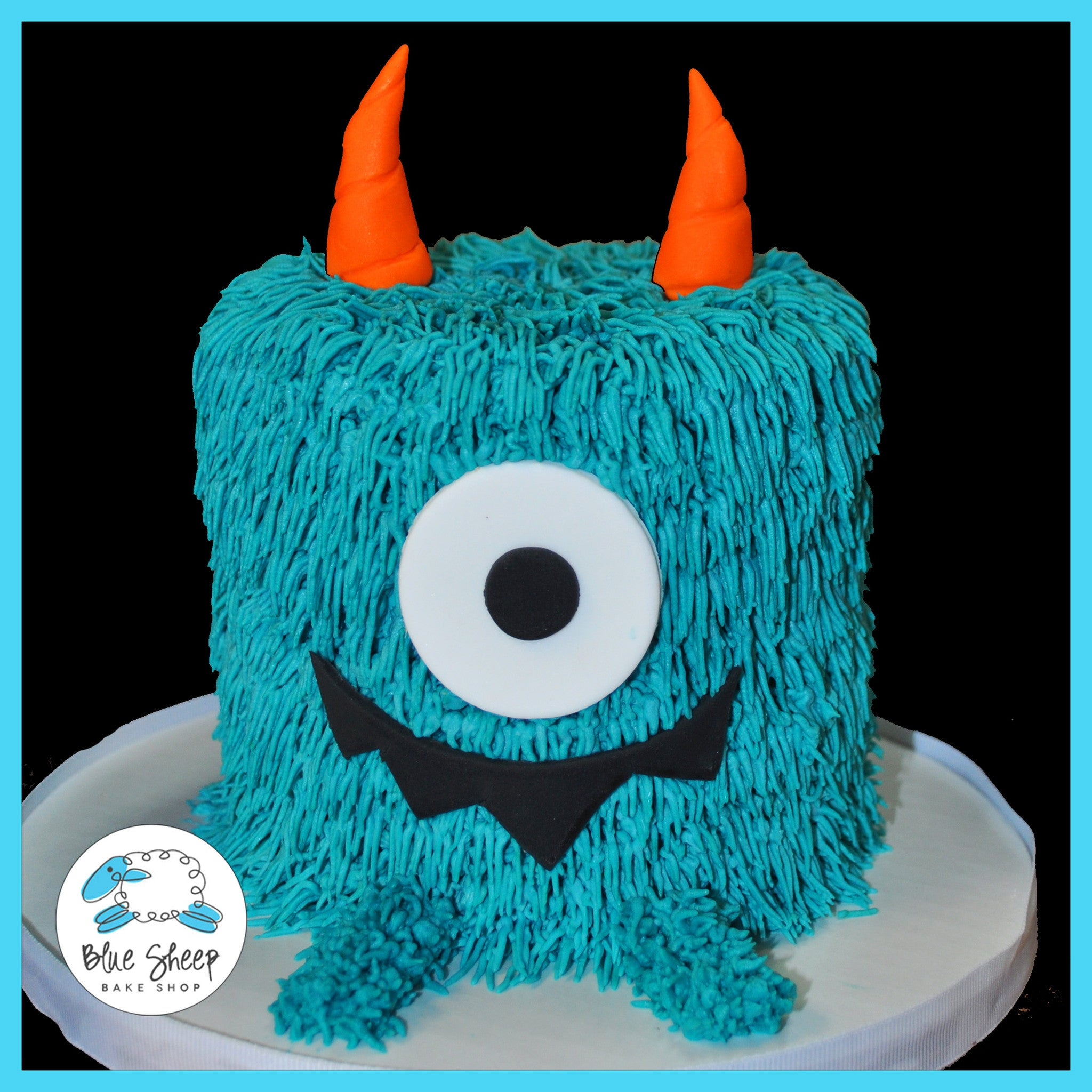 Monster 1st Birthday Smash Cake