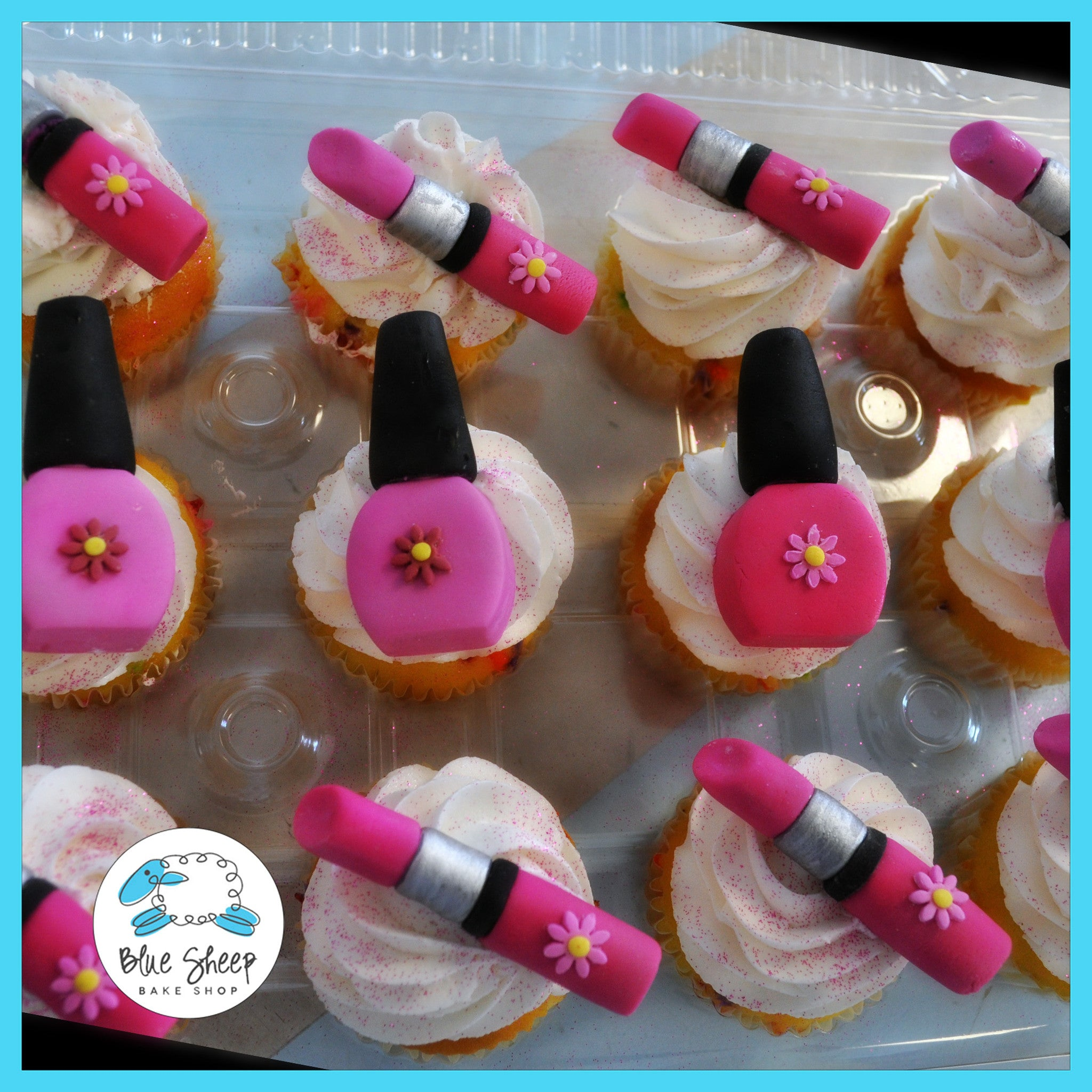 Butter Cream Cake Nails: Lipstick & Nailpolish Cupcakes