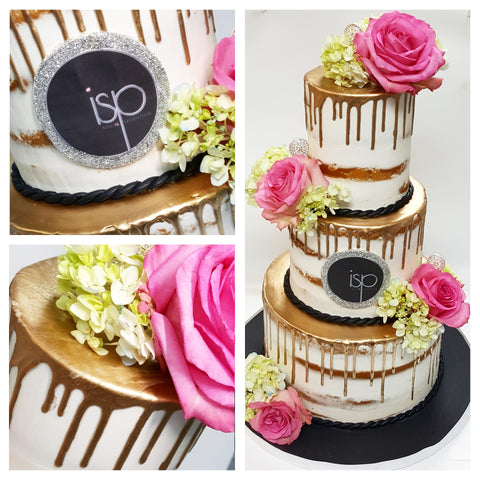 naked three tiered bat mitzvah cake best cakes in nj