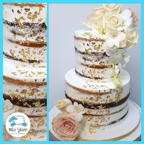 naked wedding cake nj