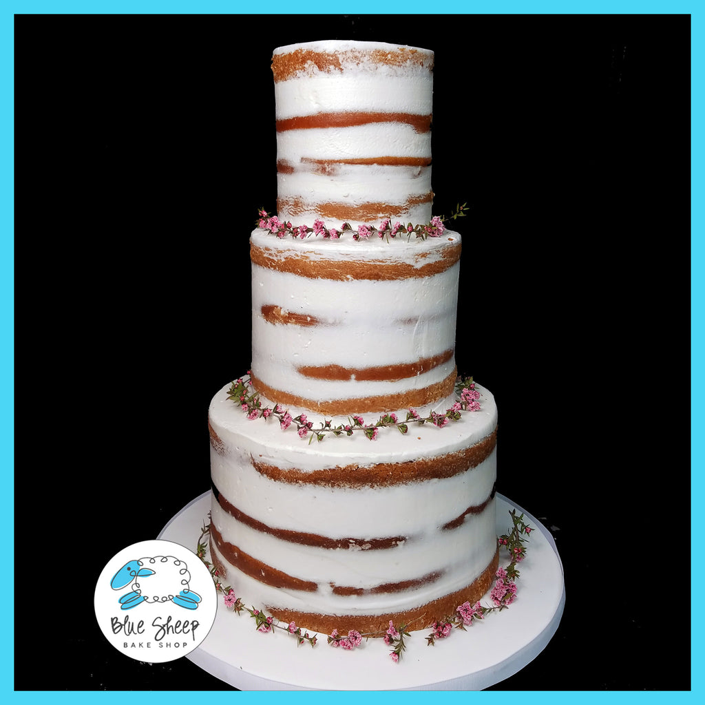 naked wedding cakes nj