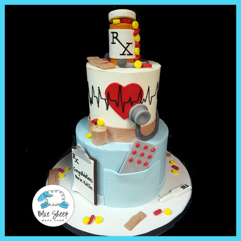 nurse graduation cake nj