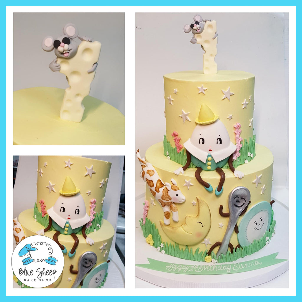 nursery rhyme custom 1st birthday cake nj