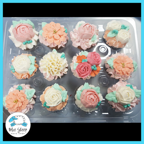 floral bridal shower cupcakes nj