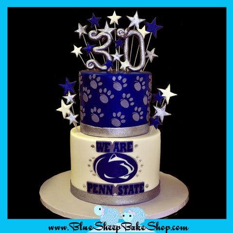 30th birthday penn state cake