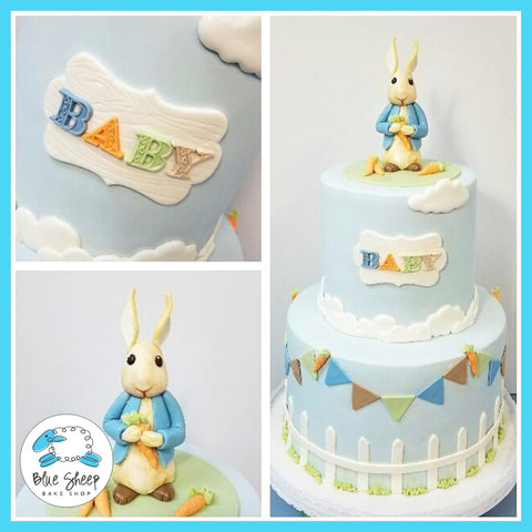 peter rabbit baby shower cake custom cakes nj