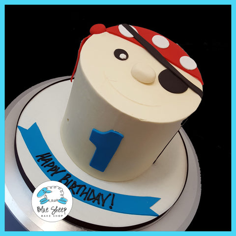 pirate smash cake NJ