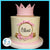 princess buttercream birthday cake nj