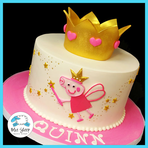 Princess Peppa Pig Birthday Cake NJ