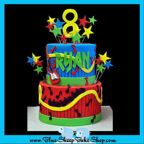 roller coaster cake nj - blue sheep custom cakes nj