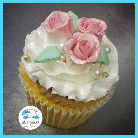 roses and pearls cupcakes nj