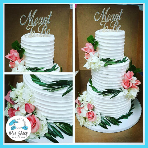 nj wedding cakes buttercream