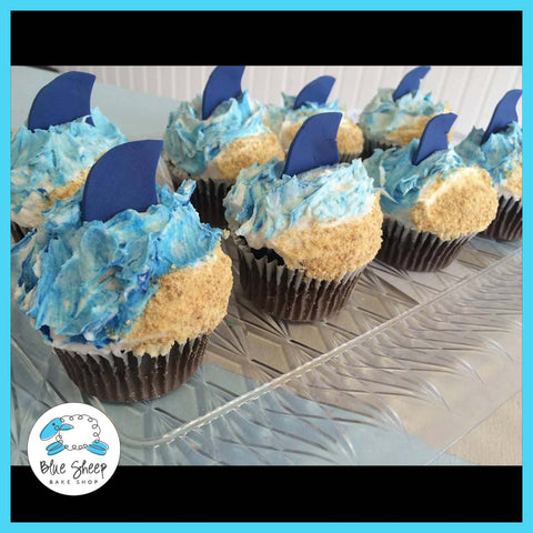 shark week cupcakes nj