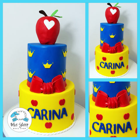 snow white princess cake nj