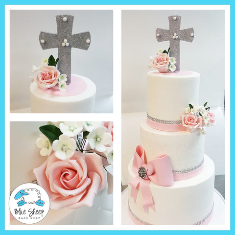 sofia's first holy communion cake nj custom cakes