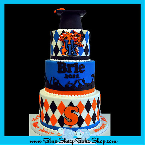 Somerville High School Graduation Cake