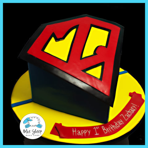 Super Z Cut Out Cake