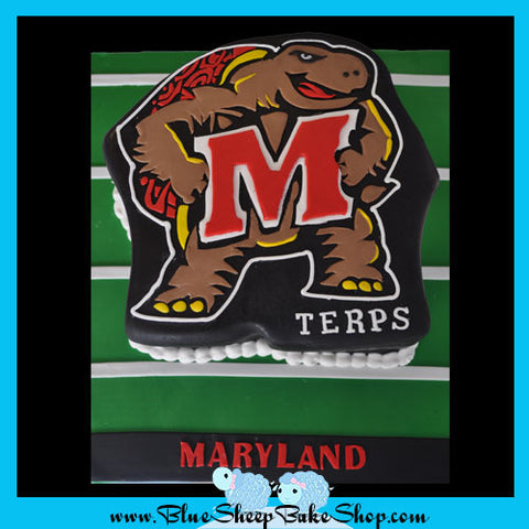 Maryland Terrapins Grooms Cake