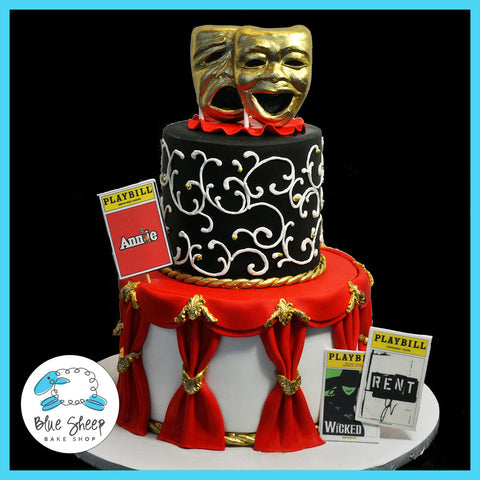 Broadway Theater Cake