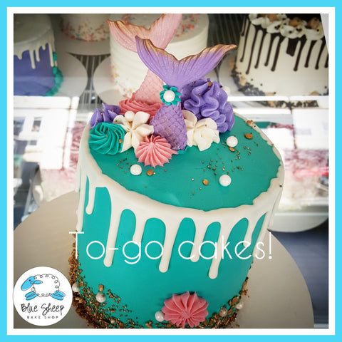 mermaid to go cake nj best cake shop