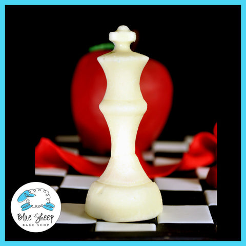 molded queen chess piece from breaking dawn book