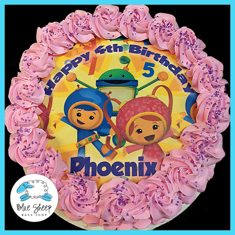 Team Umizoomi Ice Cream Cake