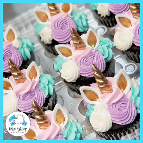 unicorn cupcakes birthday cupcakes nj