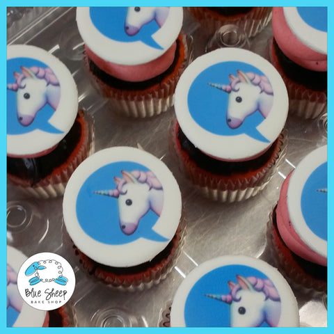 unicorn emoji specialty cupcakes nj