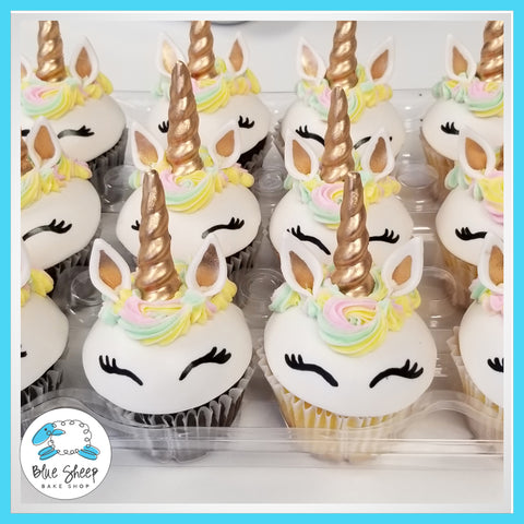 smiling unicorn cupcakes nj cupcake shop