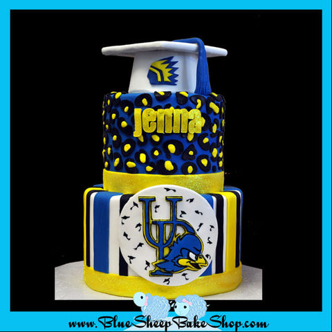watchung hills high school graduation cake