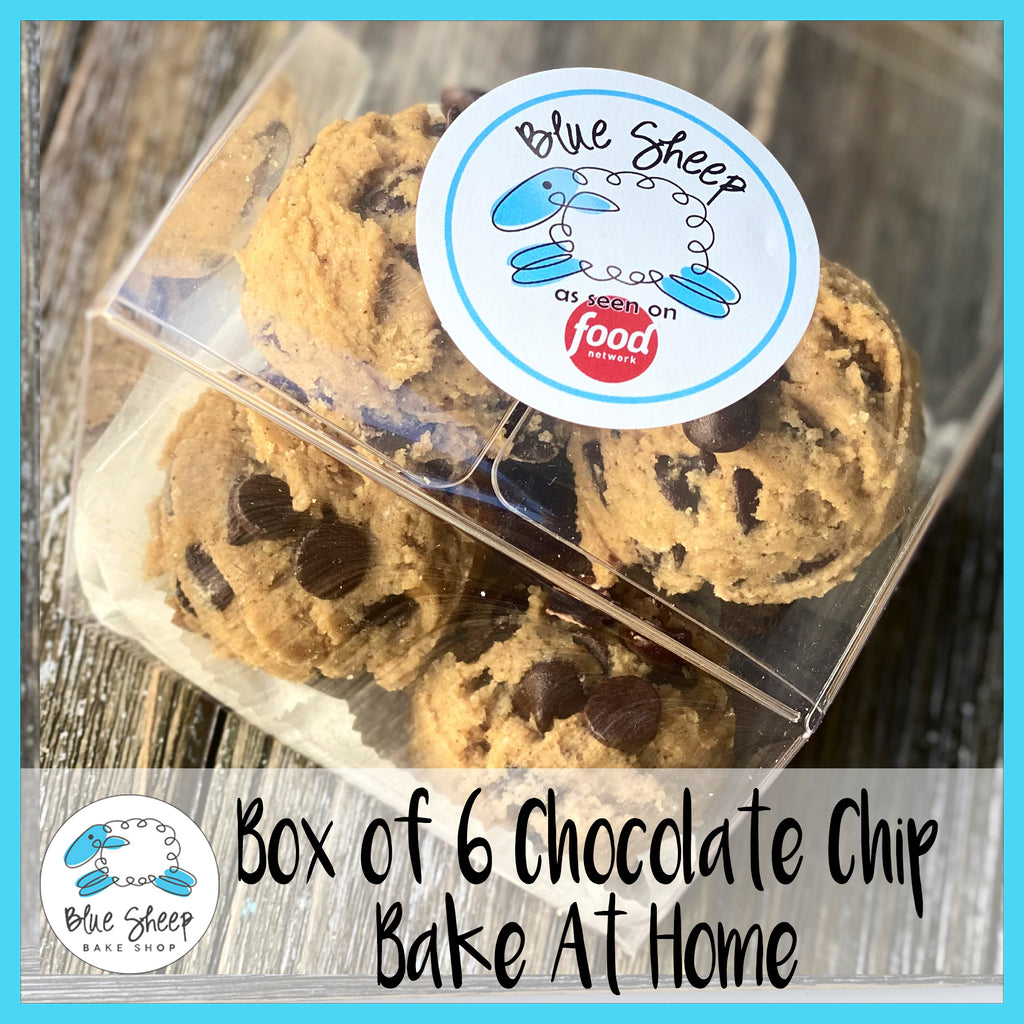 bake at home chocolate chip cookies to go curbside nj bakery
