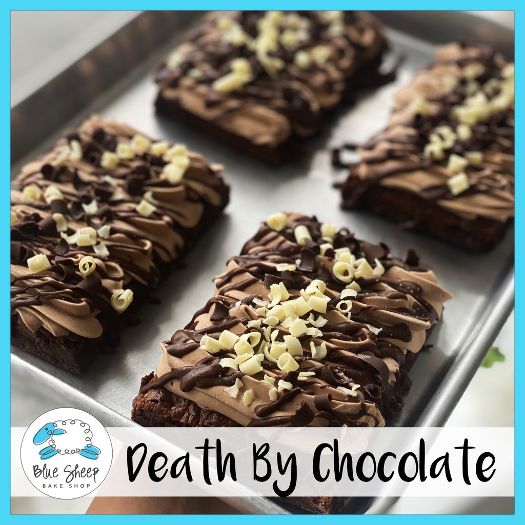 death by chocolate brownies