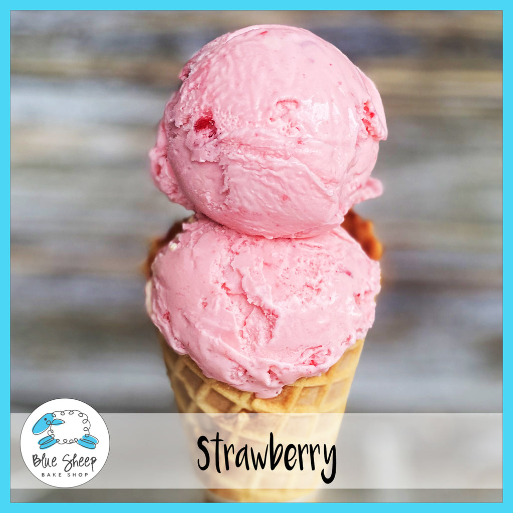 strawberry ice cream nj ice cream