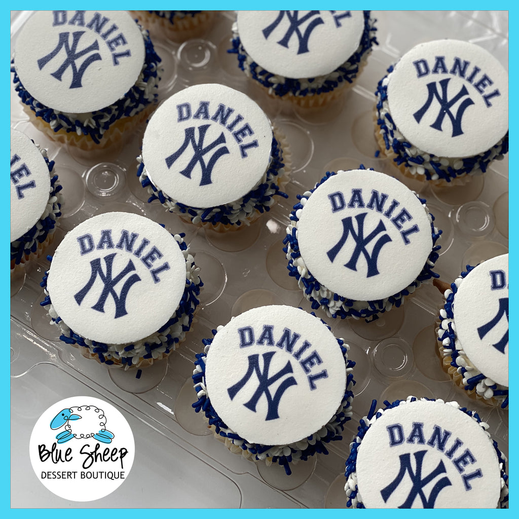 ny yankees cupcake toppers