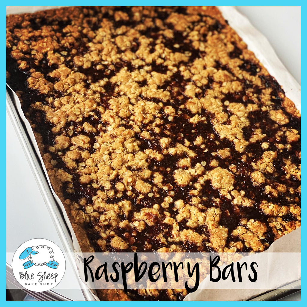 raspberry dessert bars nj bakery
