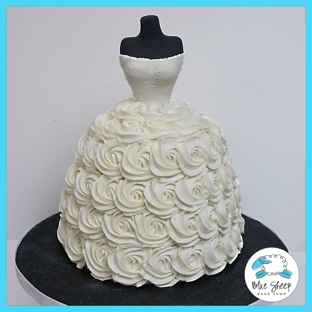 wedding dress cake nj