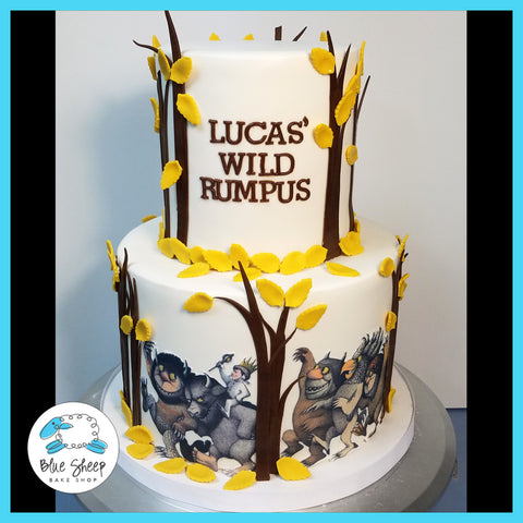 where the wild things are 1st birthday cake nj