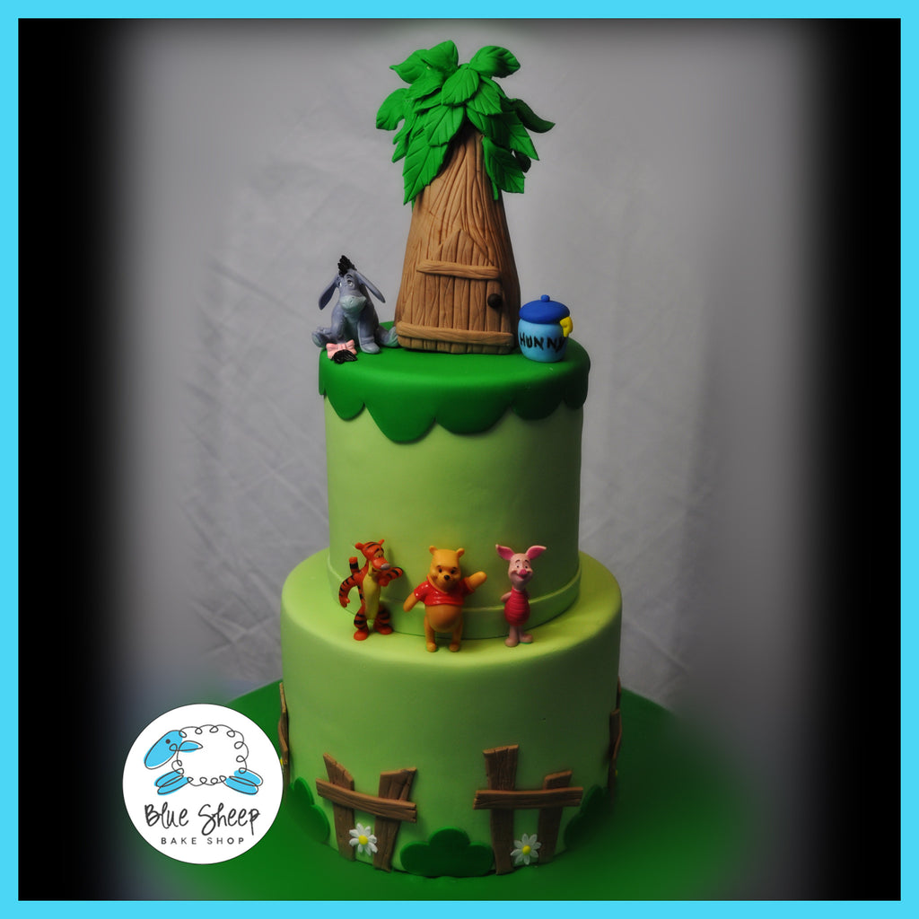 winnie the poo 1st birthday cake custom cakes nj