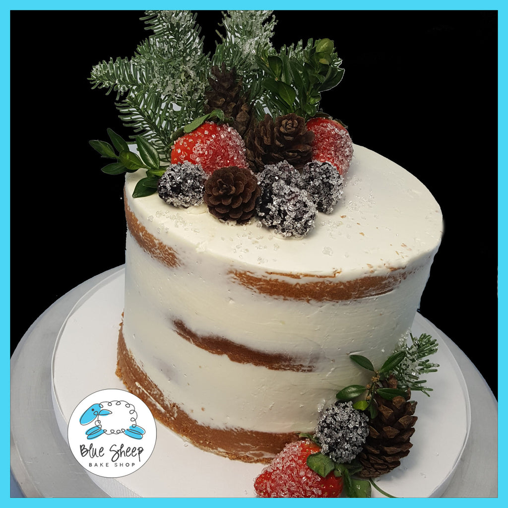 nake berries christmas cake nj