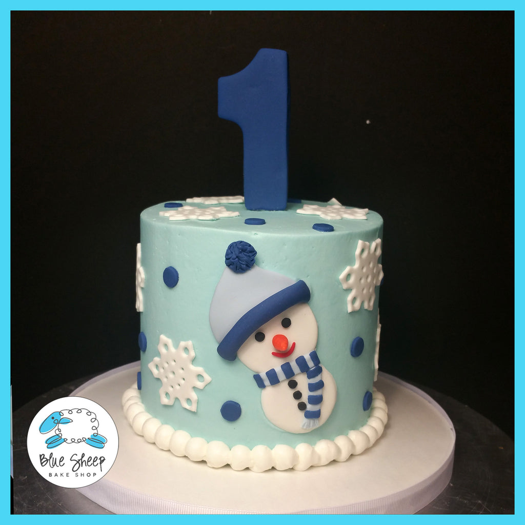 Winter One-derland Smash Cake NJ